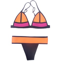 Vibrant Rubber Fashion Beach Bikinis(More Colors)
