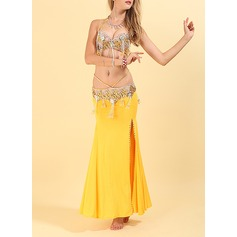 Women's Dancewear Polyester Belly Dance Outfits (115175846)