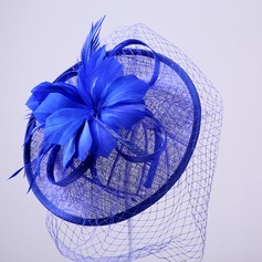 Elegant Feather/Net Yarn/Tulle Fascinators