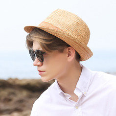 Men's Classic/Simple Papyrus Fedora Hats/Panama Hats