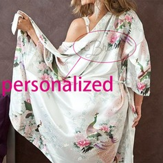 Personalized Polyester Bride Robe (20 letters or less)