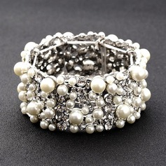 Fashional Alloy/Rhinestones/Imitation Pearls Ladies' Bracelets