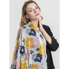 Floral Light Weight/Oversized/fashion Polyester Scarf