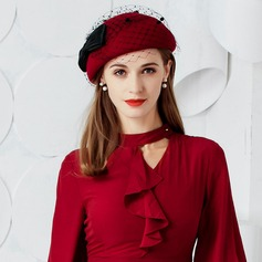 Ladies' Eye-catching Wool With Bowknot Bowler/Cloche Hat