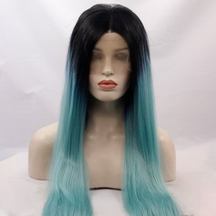 Straight Synthetic Hair Lace Front Wigs 330g