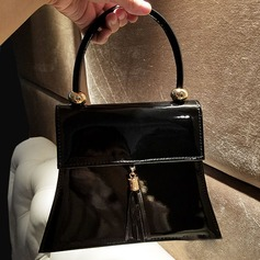 Elegant Patent Leather Totes
