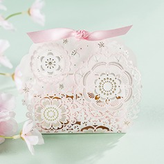 Other Card Paper Favor Bags With Ribbons