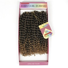 Curly Synthetic Hair Braids (Sold in a single piece) 180g
