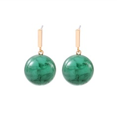 Sexy Alloy Resin Women's Fashion Earrings