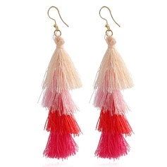 Exquisite Alloy With Tassels Ladies' (Set of 2)