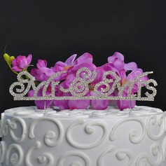 Classic Alloy Cake Topper (Sold in a single piece)