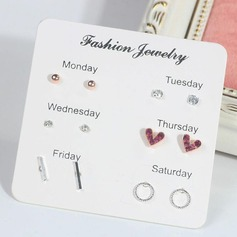 Bridesmaid Gifts - Fashion Alloy Zircon Earrings