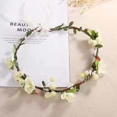 Lovely Single Flower Round Cloth Headdress Flower - (123201747)