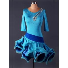 Women's Dancewear Spandex Latin Dance Leotards