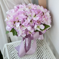 Free-Form Cotton Bridal Bouquets -