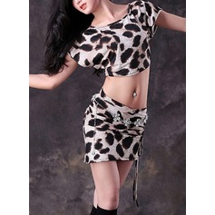 Women's Dancewear Polyester Belly Dance Practice Outfits