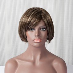 Straight Bob Synthetic Hair Weaves/Weft Synthetic Wigs