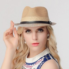 Ladies' Romantic Raffia Straw Straw Hat