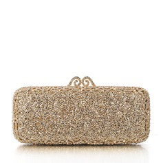 Shining Crystal/ Rhinestone/Alloy/Gold Plated Clutches/Bridal Purse/Luxury Clutches