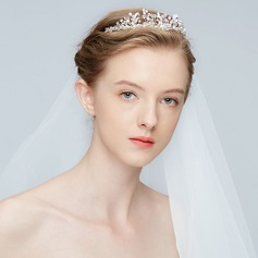 Elegant Alloy Tiaras With Rhinestone/Crystal (Sold in single piece)
