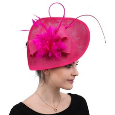Ladies' Handmade/Hottest Cambric With Silk Flower Fascinators/Kentucky Derby Hats (196203301)