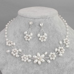 Fashional Alloy Imitation Pearls With Imitation Pearl Jewelry Sets (Set of 2)