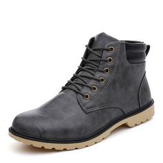Men's Leatherette Chukka Casual Men's Boots