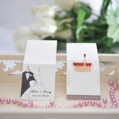 Personalized Bride And Groom Hard Card Paper