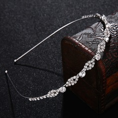 Ladies Simple Alloy Tiaras