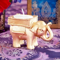 LUCKY ELEPHANT TEALIGHT HOLDER Indian Themed Wedding Decor