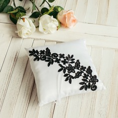 Simple Ring Pillow in Satin