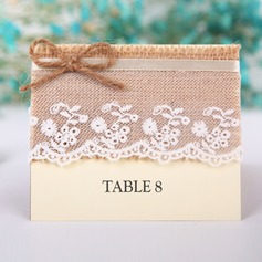 Linen/Card Paper Table Number Cards