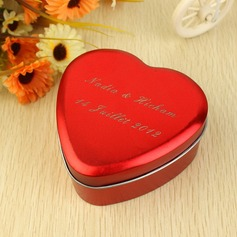 Personalized Heart Shaped Metal Favor Tin  (118031763)