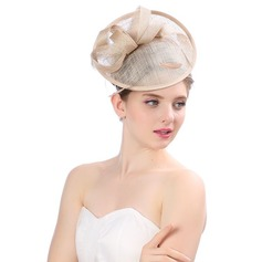 Ladies' Beautiful/Gorgeous/Fashion/Special Cambric With Tulle Floppy Hat
