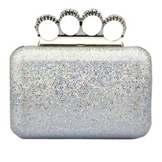 Elegant PU Clutches/Top Handle/Minaudiere
