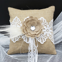 Grace/Dreamlike Lace/Cloth Ring Pillow With Flowers