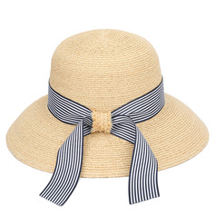 Ladies' Fancy Polyester With Imitation Butterfly Straw Hats