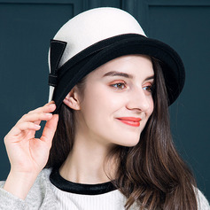 Ladies' Lovely Wool With Bowknot Bucket Hats