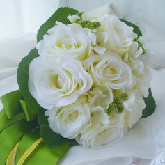 Romantic Free-Form Satin/Artificial Silk Bridal Bouquets -
