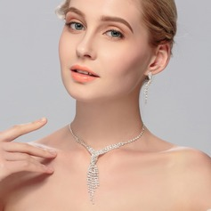 Classic Alloy Ladies' Jewelry Sets