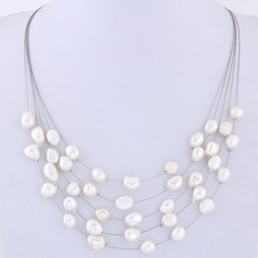 Unique Imitation Pearls Women's Fashion Necklace (Sold in a single piece)