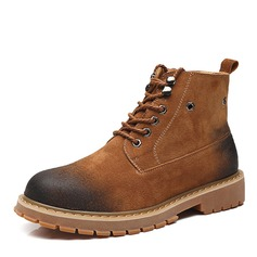 Men's Real Leather Chelsea Casual Men's Boots (261201062)