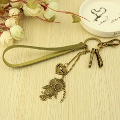 Classic Exquisite & Lovely Chrome Keychains