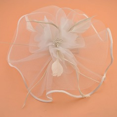 Ladies' Elegant Net Yarn Fascinators