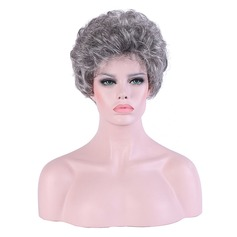 Curly Synthetic Hair Synthetic Wigs 180g