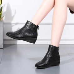 Women's Leatherette Boots Character Shoes Dance Boots Dance Shoes