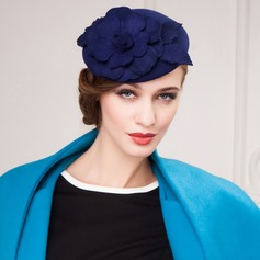 Flower Shaped Wool Hats