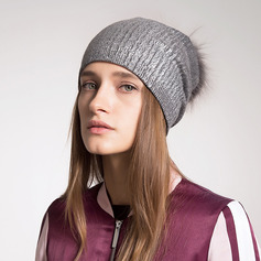 Ladies' Simple/Nice Wool Beanie/Slouchy