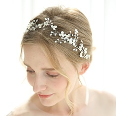 Classic Rhinestone Headbands With Rhinestone/Venetian Pearl/Crystal (Sold in single piece)