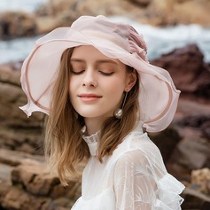 Ladies' Glamourous/Classic/Nice/Romantic Silk Floppy Hats/Tea Party Hats